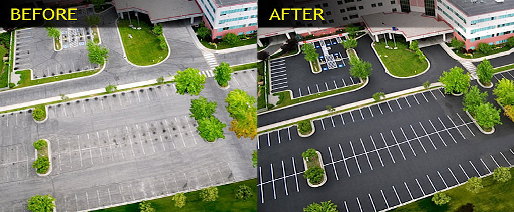 Parking Lot Restoration & Sealcoating